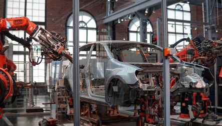 Car Plant Robot